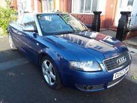 Audi, A4, Convertible, 2002, Other, 2393 (cc), 2 doors