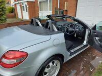 Mercedes-Benz, SLK, Convertible, 2006, Semi-Auto, 1796 (cc), 2 doors