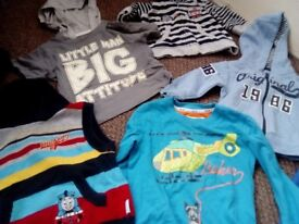 Bag mixed boys baby clothes