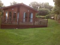 For Rent - beautiful 40' *20' 2 bed lodge sleeps 6 Haggerston Castle