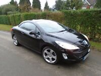PEUGEOT 308 CONVERTIBLE - FULLY LOADED - EXTREMELY TIDY