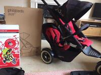 Phil and teds Dot double pushchair
