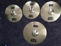 Cymbals set Meinl Great Condition! .............Bargain!
