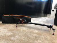Konova Portable Slider Dolly K1 48cm (18.9 Inch) + plate adapter