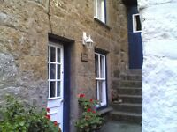 Mousehole Cornwall. Two bedroom cottage. 50 yards from the beach. Bargain breaks now available.