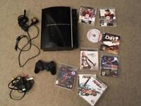 PS3 Sony PlayStation 3 bundle, console, controller & games