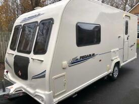 2 berth 2010 Bailey Pegasus 1 owner top of the range motor mover Added features & extras.