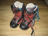 snowboard boots, size 5