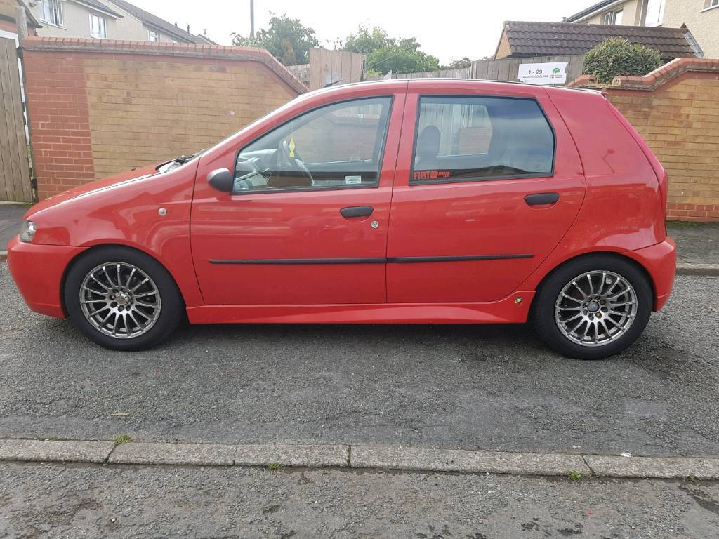 2001 fiat punto 1 2 with full abarth kit replica in bulwell nottinghamshire gumtree. Black Bedroom Furniture Sets. Home Design Ideas