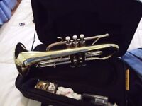 Bb VINCENT BACH CORNET PLAYED TWICE . SHOWROOM CONDITION IDEAL CHRISTMAS PRESENT AS NEW