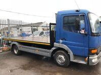Mercedes Altego 815 Flat bed Truck, 7.50kg