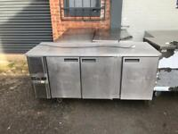 commercial bench counter pizza fridge for pizza meat chiller pizza pizza kanabab