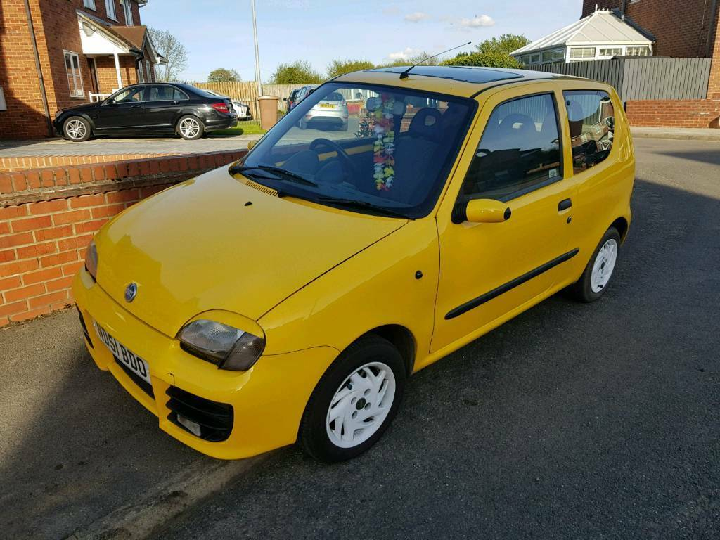 fiat seicento sporting in hull east yorkshire gumtree. Black Bedroom Furniture Sets. Home Design Ideas