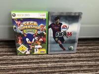 2 Xbox 360 Games + Controller