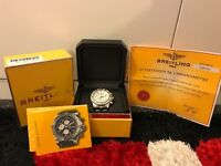 Breitling Super Avenger A13370 Diamond!