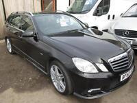 MERCEDES-BENZ E CLASS E350 CDI BlueEFFICIENCY Sport 5dr Tip Auto (black) 2010