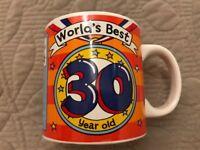 Clinton 30th Mug (New Excellent)