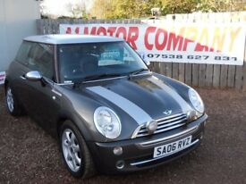 MINI COOPER PARK LANE LIMITED EDITION 2006 1.6 LTR PETROL SERVICE HISTORY 1 YEAR FRESH MOT CLEAN CAR