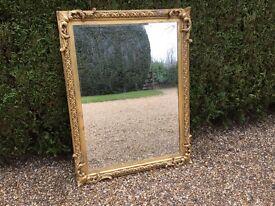 Victorian Gilt-framed Mirror