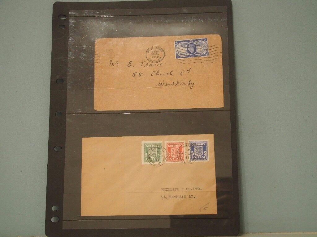 Historic Postal envelopes for sale C/W Stamps from a bygone era !!