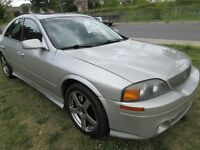 2002 Lincoln LS avec groupe