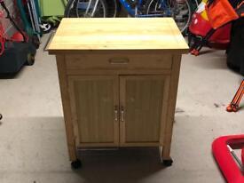 Wooden Kitchen Trolley - Argos