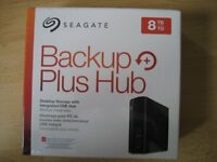 Seagate 8TB Backup Plus Hub