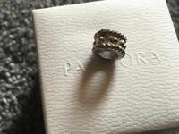 Pandora charm used with pandora box and a gift bag £11