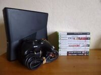 Xbox 360 250gb Slim Console Bundle