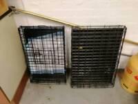 Dog cages medium sized