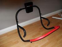 Abdominal Ab roller, plus Arm / Chest / Thigh / leg muscle toner. Both virtually unused. Bargain!