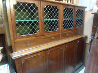 vintage mahogany court cupboard lovely con