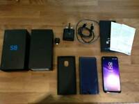 Samsung S8 64g unlocked or swap for iPhone 7 or 7plus unlocked in black