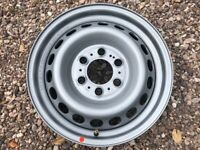"""Genuine 16"""" Mercedes Sprinter 907 Steel Wheel Single Spare Great Condition Sets of Four Available"""