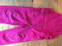 Girls dungarees 18-24mths Polarn O. Pyret