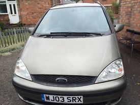 Ford Galaxy 2003 breaking for parts