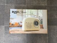 BUSH retro style DAB radio (brand new)