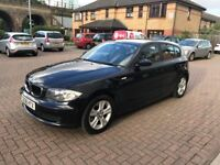 Beautiful ES Edition Black 5 Door BMW 1 series for sale! - Car in Great Condition!!!