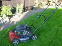 Mountfield Multiclip 50 Mulch push lawnmower 6.5hp BMC engine f good working order no rotton deck