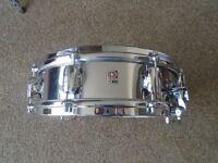 Premier Royal Ace 14 x 4 Chrome Snare Drum vintage