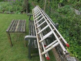 Aluminium Extending Ladder Two Section