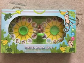 Monkey match game NEW ideal Christmas present from M & S