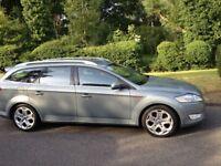 FORD MONDEO 2.0 TDCI TITANIUM X DIESEL ESTATE -LONG MOT ONE OWNER SINCE 2008-CHEAP CAR TO RUN