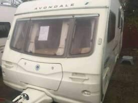 Avondale Argente 530-5 2006 5 berth touring caravan