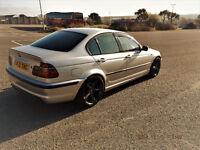 2004 BMW E46 2.2L M SPORT (6 CIL) SILVER. IMMACULATE. £££ SPENT