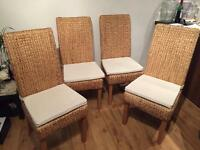 4 dinning chairs for sale