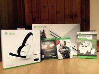 Xbox One S 500GB w/ Games & Accessories