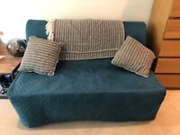 SOFA BED - IKEA - 2-SEAT - Super Comfortable - Blue/Turquoise