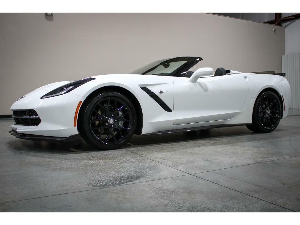2019 White Chevrolet Corvette Convertible 3LT   C7 Corvette Photo 9