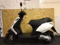 2017 Piaggio zip 50 2t 47kmh from new